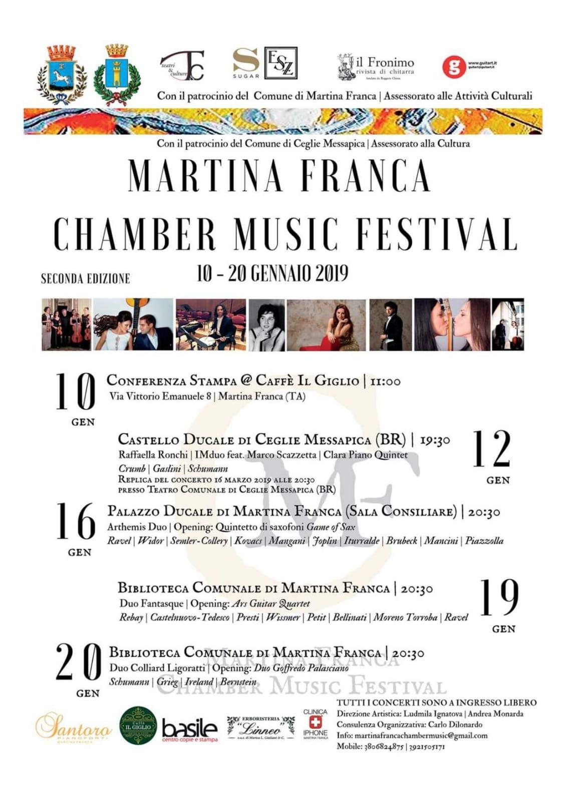 Martina Franca Chamber Music Festival