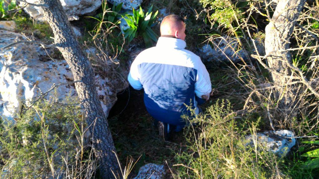Speleocem, grotta Monte Pizzuto