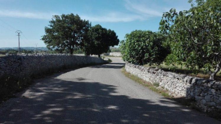 vecchio sentiero Locorotondo-Martina