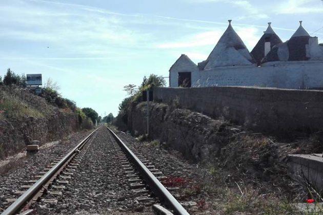Trulli adiacenti alla ferrovia sud-est